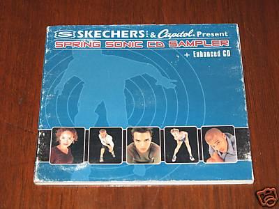 Sketchers & Capitol Present: Spring Sonic CD Sampler (CD, AUSTRALIA)