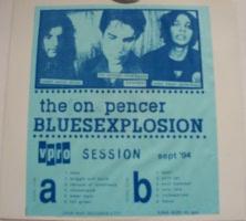 "The Jon Spencer Blues Explosion - Vpro Session, Sept '94 [Bootleg] [Crap Rap] (10"", NETHERLANDS) - Variation 3 - Cover"