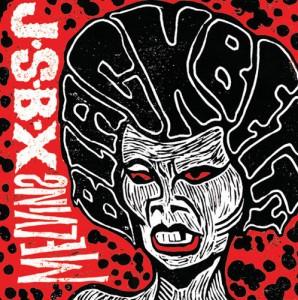 """The Jon Spencer Blues Explosion / Melvins - Black Betty [Splatter] (7"""", US) - Cover"""
