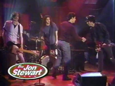 The Jon Spencer Blues Explosion - The Jon Stewart Show, New York City, New York, US (23 December 1994)