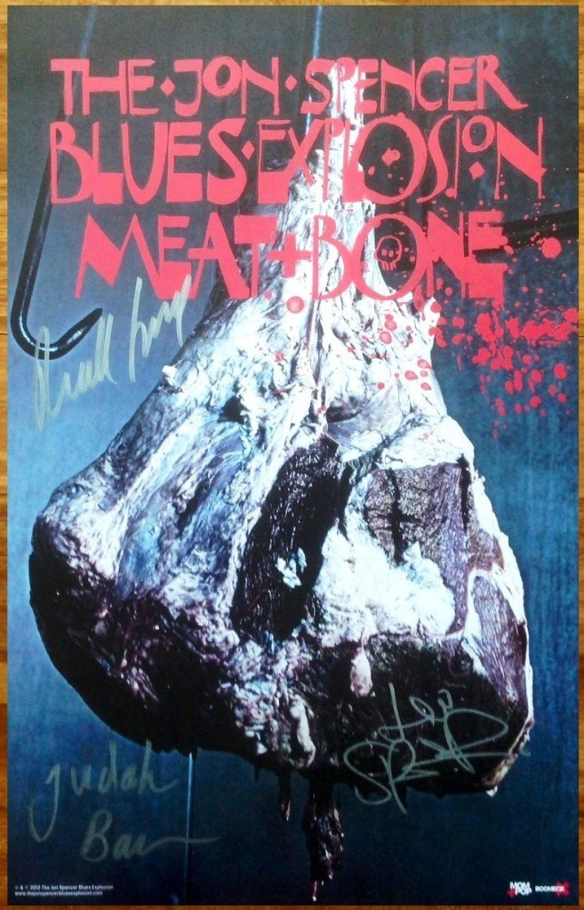 The Jon Spencer Blues Explosion – Meat and Bone (POSTER, US)