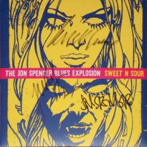 """The Jon Spencer Blues Explosion - Sweet N Sour (7"""", UK)"""