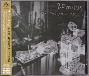 20 Miles – Life Doesn't Rhyme (CD, JAPAN)