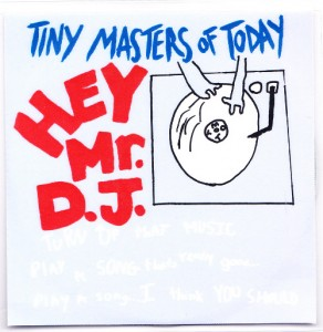 Tiny Masters of Today - Hey, Mr. DJ [Promo] (CD, UK) - Cover