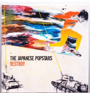 Japanese Popstars - Destroy [3 Track] [Promo] (CD, UK) - Cover