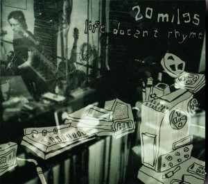 20 Miles - Life Doesn't Rhyme (CD, US) - Cover