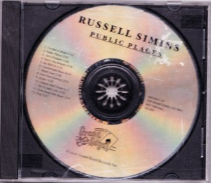 Russell Simins - Public Places [Promo] [Factory Pressed] (CD, US) - Cover