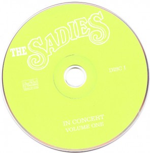 The Sadies - In Concert Volume One (2xCD, US) - Disc - 1