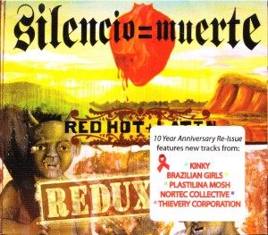 V/A feat. Cibo Matto - Red Hot + Latin: Silencio = Muerte Redux  (CD, US) - Cover