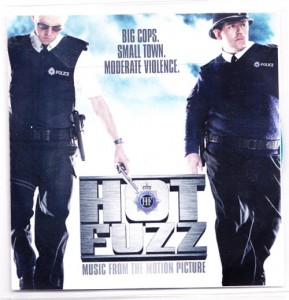 V/A feat. Jon Spencer and The Elegant Too - Hot Fuzz: Music From The Motion Picture [Promo] (CD, UK) - Cover