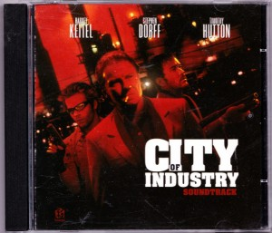 V/A feat. Butter 08 - City of Industry (CD, US) - Cover