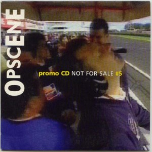 V/A feat. 20 Miles - Opscene Promo CD #5 (CD, NETHERLANDS) - Cover