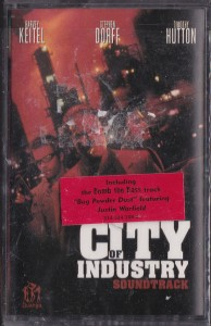 V/A feat. Butter 08 - City of Industry (CASSETTE, US) - Cover