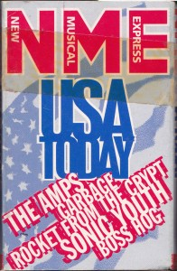 V/A feat. Boss Hog - USA Today (CASSETTE, UK) - Cover