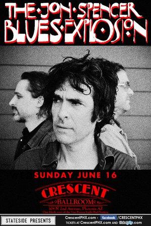 Jon Spencer Blues Explosion - The Crescent Ballroom, Phoenix, AZ, US (16 June 2013)