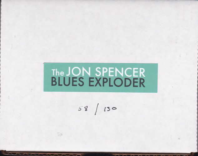The Jon Spencer Blues Explosion - The Blues Exploder (EXPLODER, US) - Box