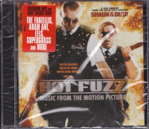 V/A feat. Jon Spencer and The Elegant Too - Hot Fuzz: Music From The Motion Picture (CD, US) - Cover