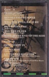 Pussy Galore - Historia De La Musica Rock (CASSETTE, US) - Cover