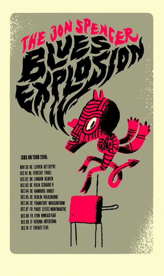 Jon Spencer Blues Explosion - European Tour (November / December 2010)