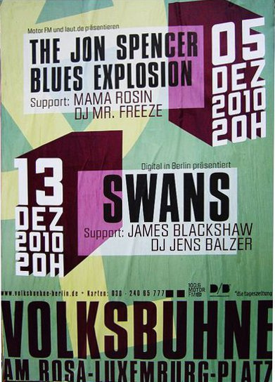 Jon Spencer Blues Explosion - Volksuhne, Germany (5 December 2010)