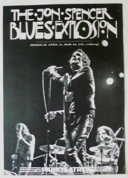 The Jon Spencer Blues Explosion - Parkteatret, Oslo, Norway (28 April 2013)