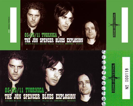 The Jon Spencer Blues Explosion - Tvornica, Zagreb, Croatia (5 June 2011) - Tickets