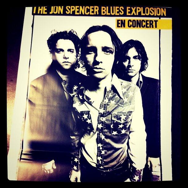 The Jon Spencer Blues Explosion - La Vapeur, Dijon, France (31 May 2011)