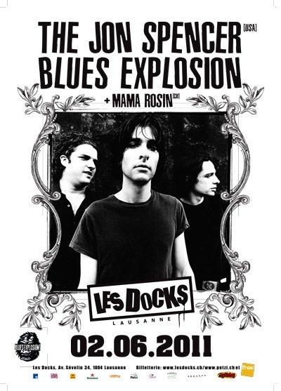 Jon Spencer Blues Explosion - Les Docks, Laysanne, Switzerland (2 June 2011)