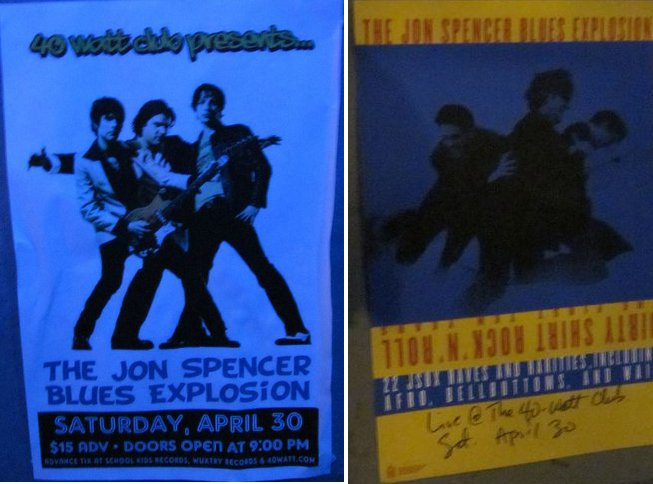 Jon Spencer Blues Explosion - 40 Watt Club, Athens, Georgia, US (30 April 2011)
