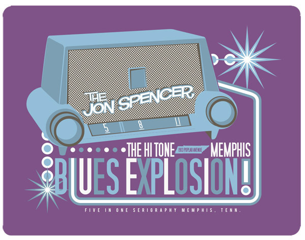 The Jon Spencer Blues Explosion - The Hi-Tone, Memphis, TN, US (8 May 2011)