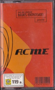 The Jon Spencer Blues Explosion - Acme (CASSETTE, THAILAND) - Cover