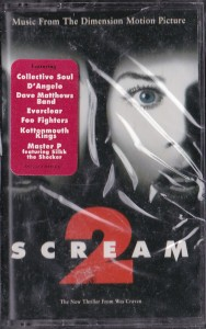 V/A feat. The Jon Spencer Blues Explosion -  Scream 2: Music From The Dimension Motion Picture  (CASSETTE, US) - Cover