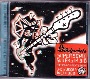 Los Straitjackets - Supersonic Guitars In 3D (CD, US)  - Cover