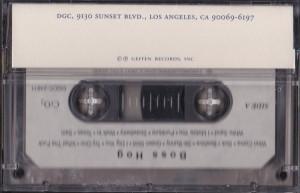 Boss Hog [Promo] (CASSETTE, US) - Rear