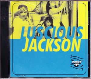 Luscious Jackson - Naked Eye (CD, US) - Cover