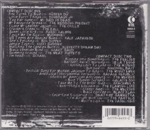 V/A feat. Pussy Galore - Gimme Indie Rock Vol. 1 (CD, US) - Rear