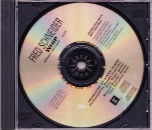 Fred Schneider - Whip [Promo] (CD, US) - Front
