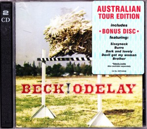 Beck - Odelay (2xCD, AUSTRALIA) - Cover