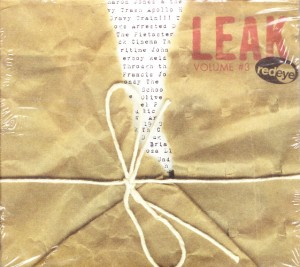 V/A feat. Heavy Trash - Leak Volume #3 [Promo] (2xCD, US) - Cover