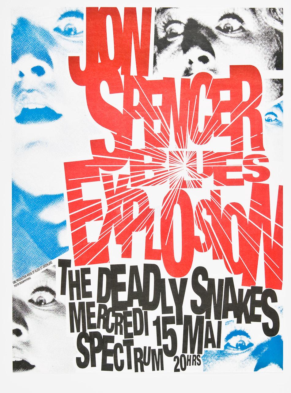 The Jon Spencer Blues Explosion - Spectrum, Toronto, ON, Canada (15 May 2002)