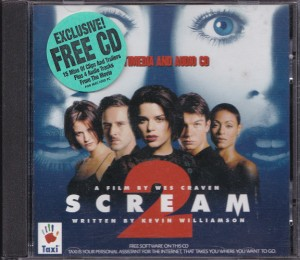 V/A feat. Jon Spencer Blues Explosion - Scream 2: Music From The Dimension Motion Picture [Multimedia] (CD, UK) - Cover