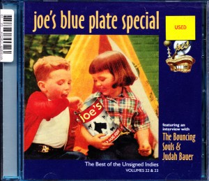 V/A feat. Judah Bauer - Joe's Blue Plate Special Vol. 22 & 23 (CD, US) - Cover