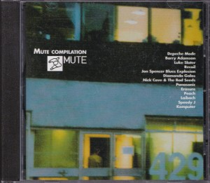 V/A feat. Jon Spencer Blues Explosion - Mute Compilation (CD, SINGAPORE) - Cover