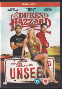 V/A feat. Blues Explosion - Dukes of Hazzard: Unseen [RENTAL] (DVD, UK)  - Cover