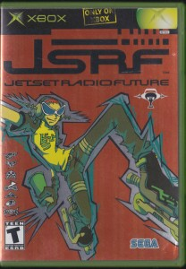 V/A feat. Russell Simins - Jet Set Radio Future (X-BOX GAME, US) - Cover