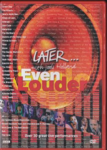 V/A feat. Jon Spencer Blues Explosion - Later…Even Louder (DVD, UK) - Cover