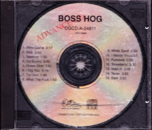 Boss Hog - Boss Hog [Promo] (CD, US) - Front