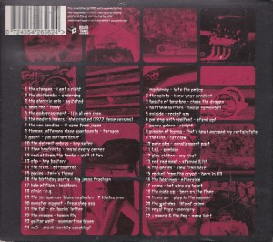 V/A feat. Boss Hog / The Jon Spencer Blues Explosion / Pussy Galore - Rough Trade Shops: Rock and Roll 1 (2xCD, UK) - Rear