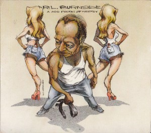 R.L. Burnside - A Ass Pocket of Whiskey (CD, UK) - Cover