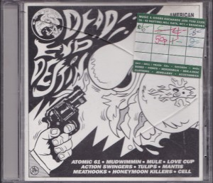 V/A feat. Honeymoon Killers - Dead End Destiny (CD, UK) - Cover